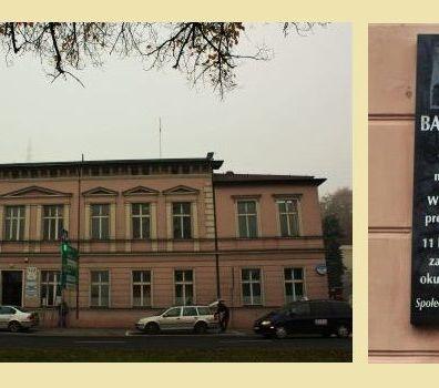 Dom, w którym mieszkał Leon Barciszewski, ul. Wały Jagiellońskie 12, Bydgoszcz
