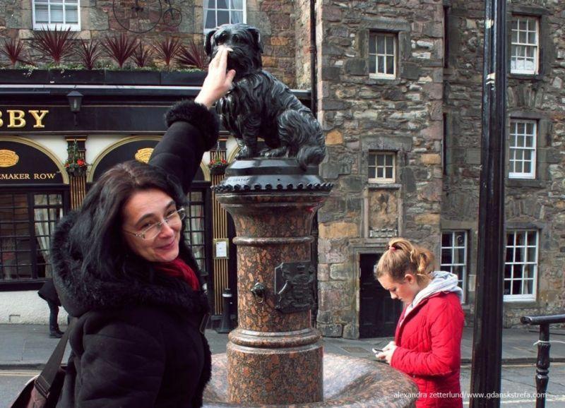 Greyfriars Bobby w Edynburgu