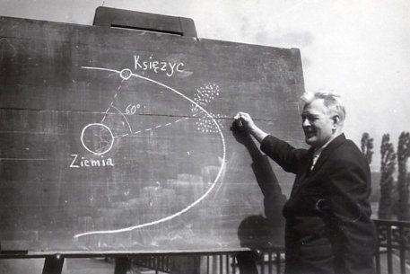 Wykład Kazimierza Kordylewskiego, fot. CAF, J. Lewicki