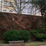 Fragment odcinka zachodniego murów
