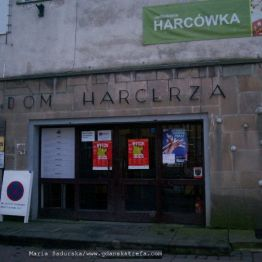 Dom Harcerza- główne wejście