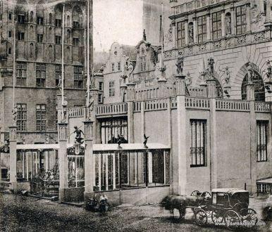 Przybudówka zbudowana z okazji przyjazdu króla Wilhelma I w 1861 roku.