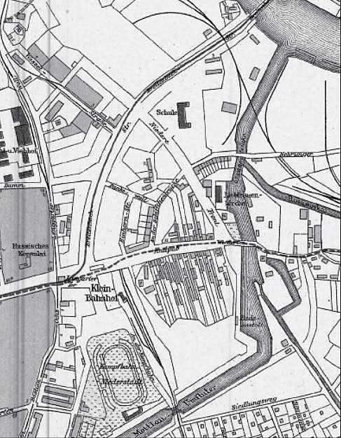 Fragment planu z 1933 r