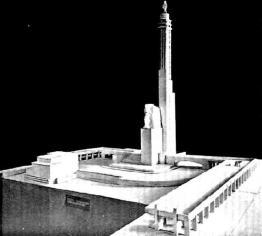 Art.-rzeźb. Zofja Trzcińska-Kamińska i arch. Jan Zachwatowicz (Warszawa).
