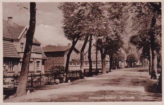 Sztutowo, 1940 r.