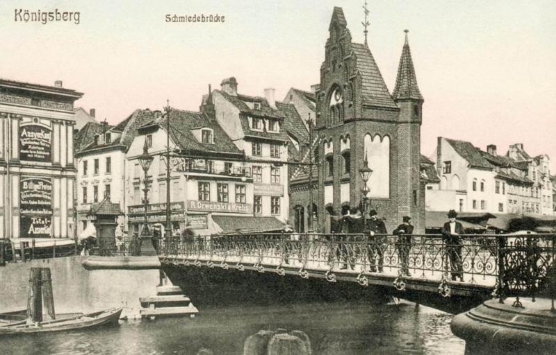 Zagadkowy spacer po mostach Królewca.