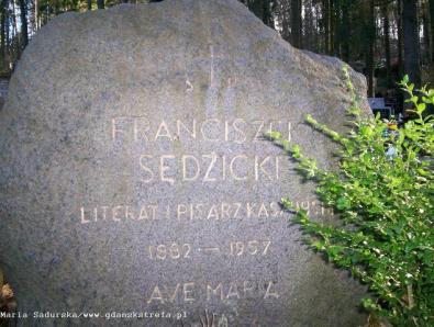 grób Franciszka Sędzickiego