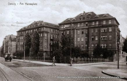 Plac Hanzy 1917 rok