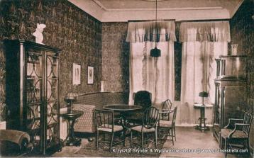 Wnętrze kasyna oficerskiego 128. Gdańskiego Pułku Piechoty