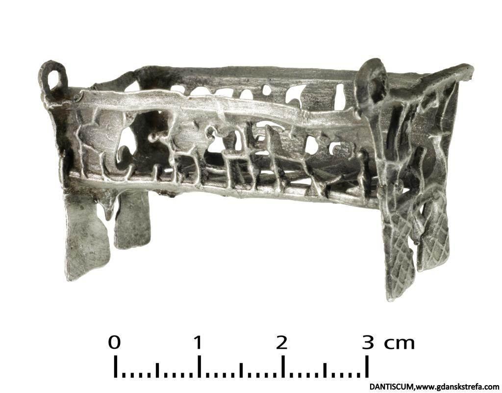 Zabawka - łóżeczko, XVI-XVII w.