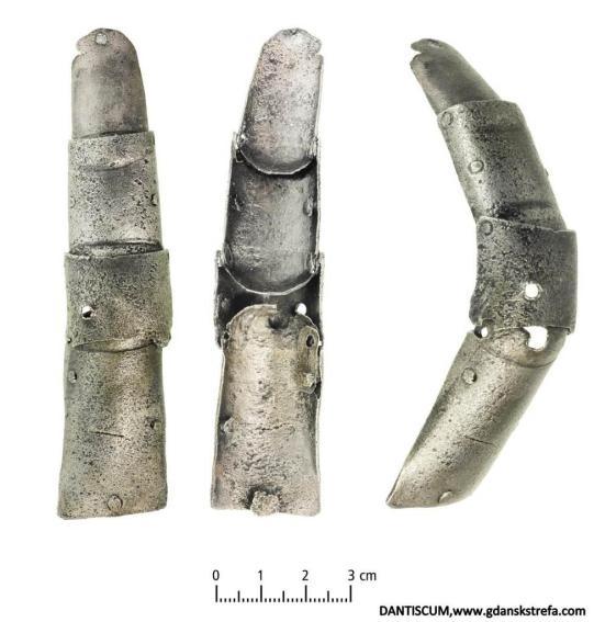 Zbroja - palce rękawicy, XV-XVII w.