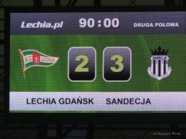Lechia Gdańsk - Sandecja Nowy Sącz