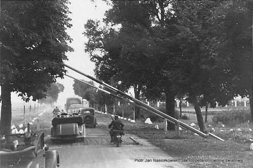Przekraczanie polskiej granicy 1 września 1939 r.