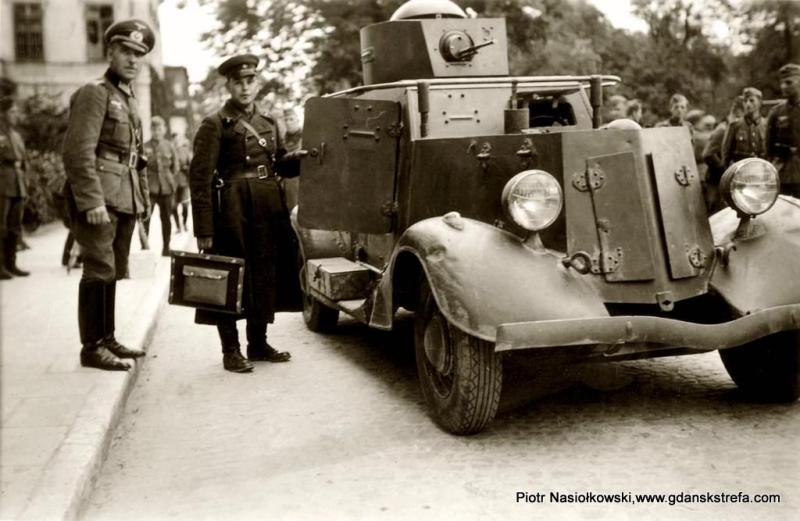 Pierwsze spotkanie oficerów Armii Czerwonej i Wehrmachtu Brześć 18 września 1939