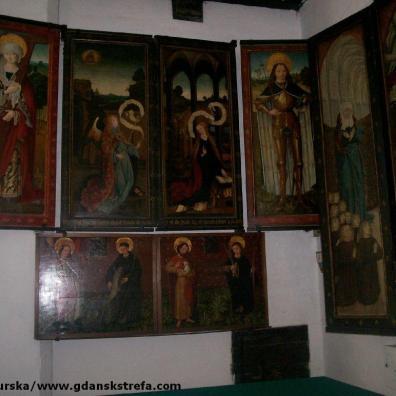 Ołtarze w kaplicy św. Baltazara