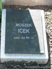 Cmentarz w Jeżowie Grób Moszka Icka