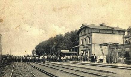 Swarożyn dworzec kolejowy