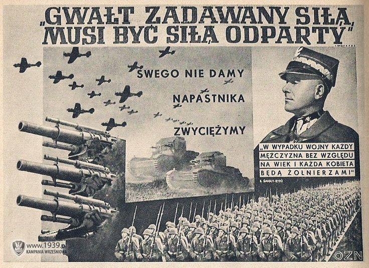 Przedwojenny polski plakat propagandowy