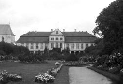 Pałac Opatów w 1934 r.