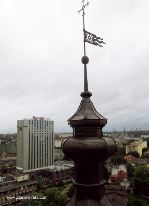 wietrznik kościoła św. Katarzyny
