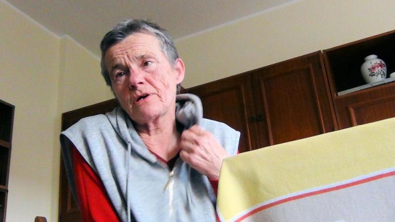 Pani Barbara Chorzelewska czuje się pokrzywdzona przez władze miasta Gdańska.