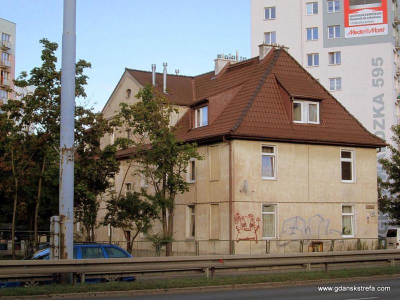 Budynek przy Grunwaldzkiej 597