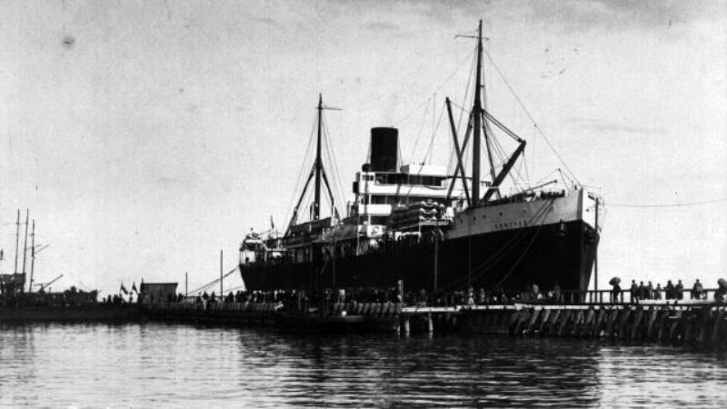 SS Kentucky w Gdyni