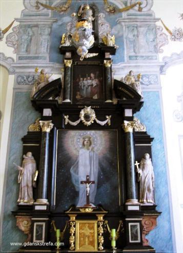 Kaplica Mariacka, ołtarz