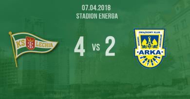 Lechia Gdańsk vs Arka Gdynia