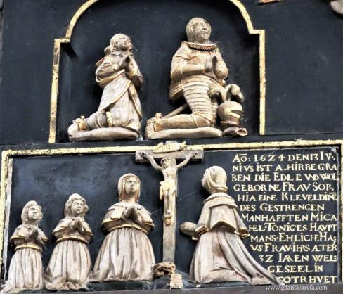 epitafium Zofii Kleweld