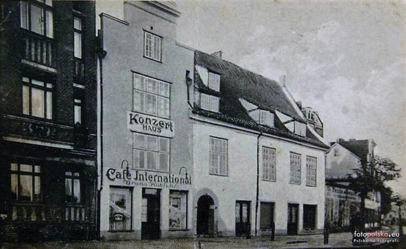 Restauracja Kubickiego w 1924 r, źródło: Fotopolska