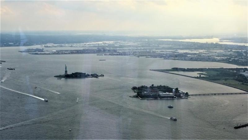 Statua Wolności i wyspa Ellis