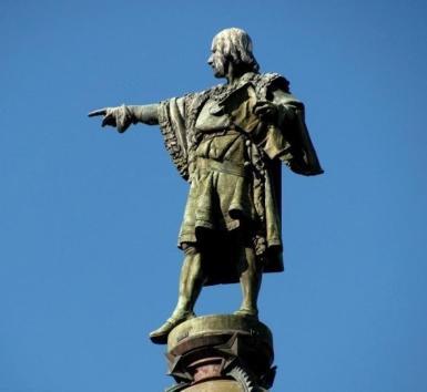 Pomnik Krzysztofa Kolumba w Barcelonie.