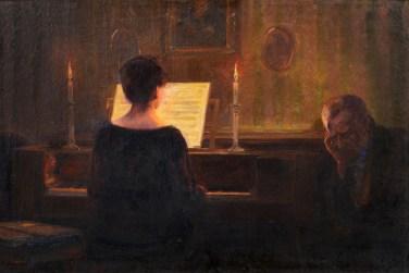 Reinhold Bahl - Przy fortepianie