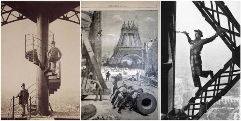 Budowa wieży Eiffla