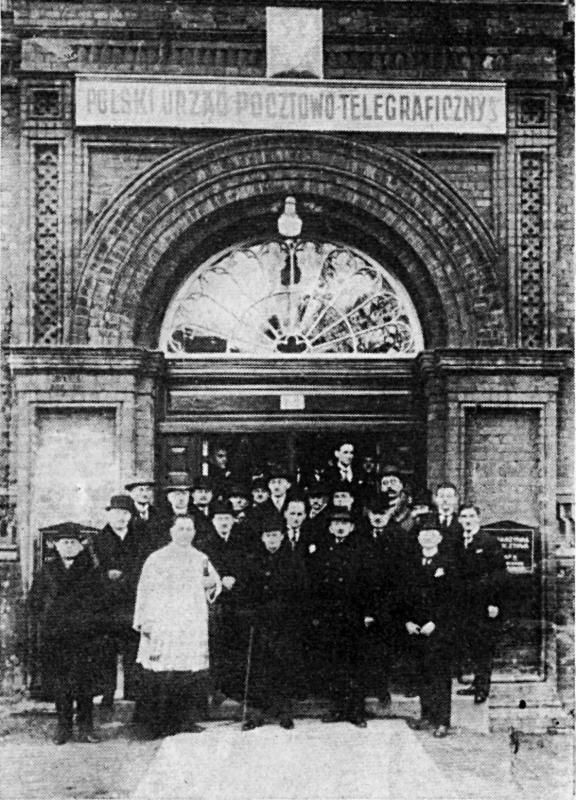 Otwarcie 5 stycznia 1925 Polskiego Urzędu P-T Nr 3 (późniejszej placówki Gdańsk 1)