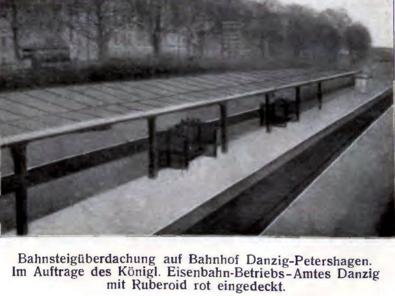 Zdjęcie stacji Zaroślak, sprzed II WŚ