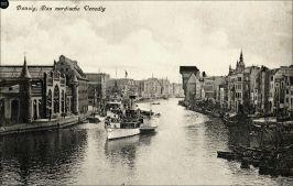 Gdańsk - Wenecja północy, port na Motławie w dwudziestoleciu