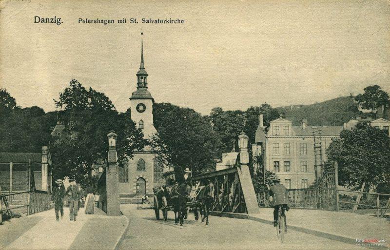 Pocztówka Zaroślak Kościół i most