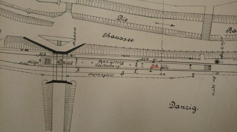 Mapa przystanku Zaroślak 1909 mała