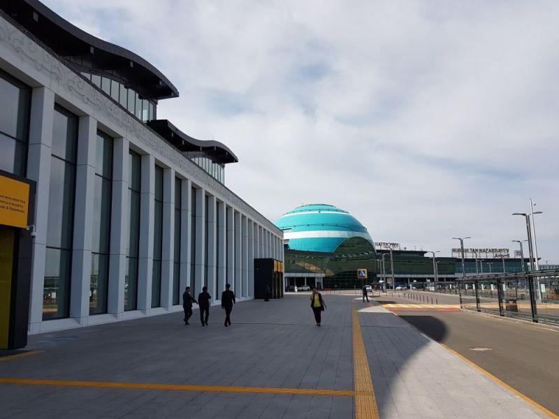 Dworzec lotniczy w Astanie