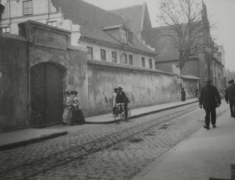 Szpital św. Elżbiety w 1905 r.