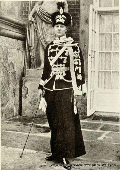 Księżniczka Viktoria Luise, drugi szef w 2. Leibhusaren-Regiment w latach 1910 – 1919.