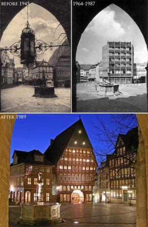 Markplatz w Hildesheim