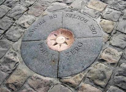 Notre Dame punkt zero/ Wikipedia