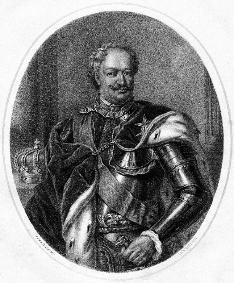 Aleksander Lesser, Stanisław Leszczyński, 1860 domena publiczna