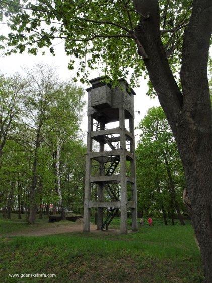 Westerplatte wieża obserwacyjna