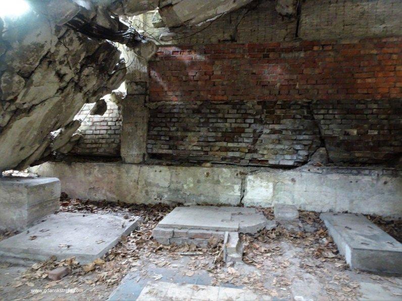 Westerplatte koszary, łazienka