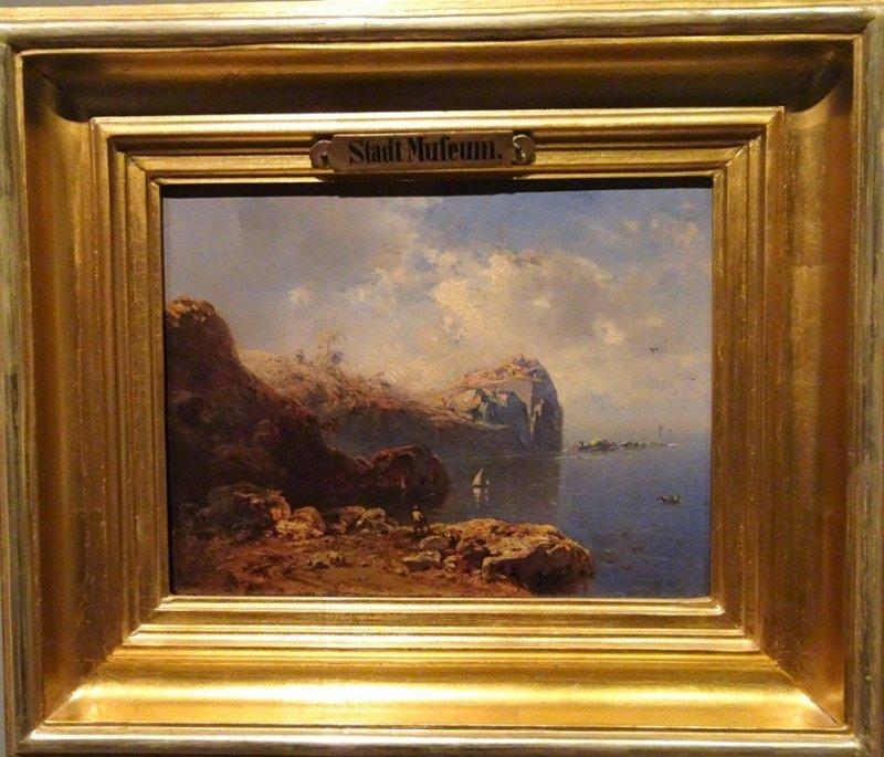 """Eduard Hildebrandt """"Brazylijskie wybrzeże"""""""