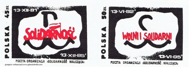 Grzegorz Wołoszczak - znaczki